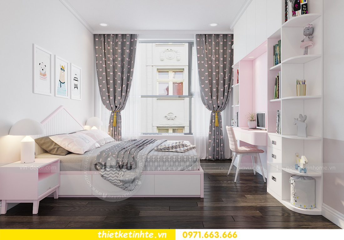 thiết kế nội thất chung cư Park Hill Premium P10 căn 03 nhà chị Lan 10