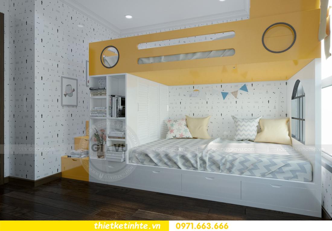 thiết kế nội thất chung cư Vinhomes D'Capitale thanh lịch 10