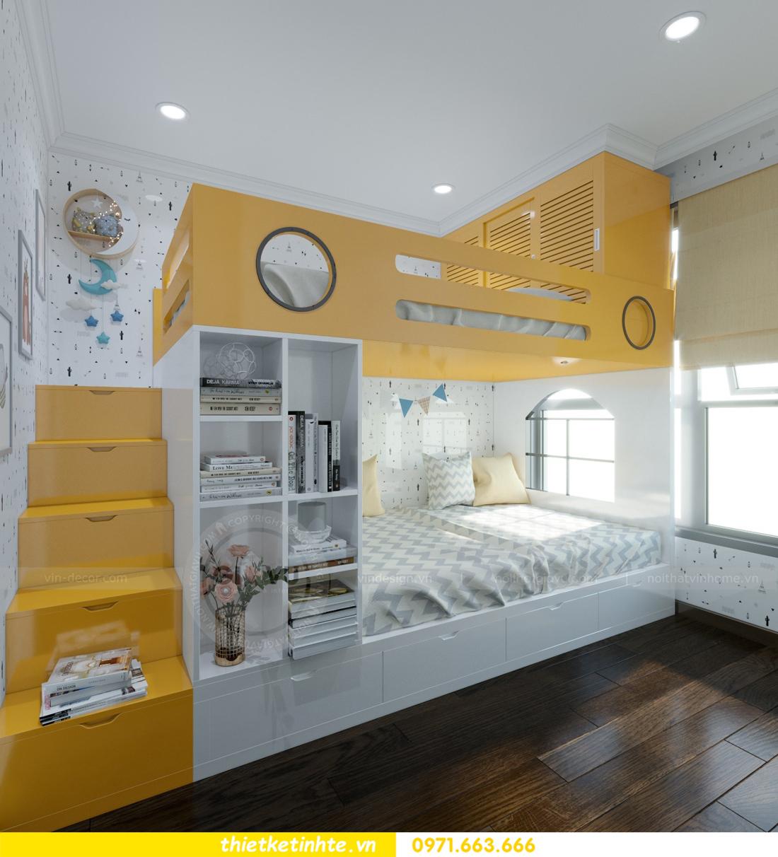 thiết kế nội thất chung cư Vinhomes D'Capitale thanh lịch 11