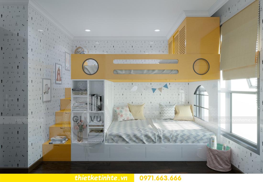 thiết kế nội thất chung cư Vinhomes D'Capitale thanh lịch 12