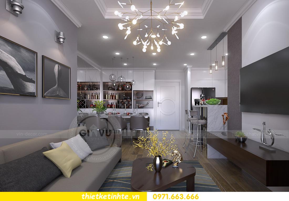 thiết kế nội thất chung cư Vinhomes Metropolis Liễu Giai 02