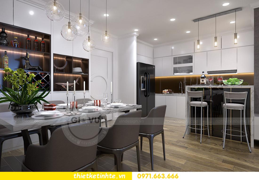 thiết kế nội thất chung cư Vinhomes Metropolis Liễu Giai 03