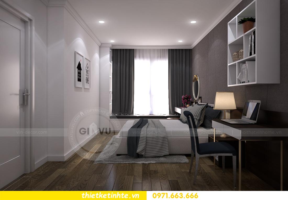 thiết kế nội thất chung cư Vinhomes Metropolis Liễu Giai 08