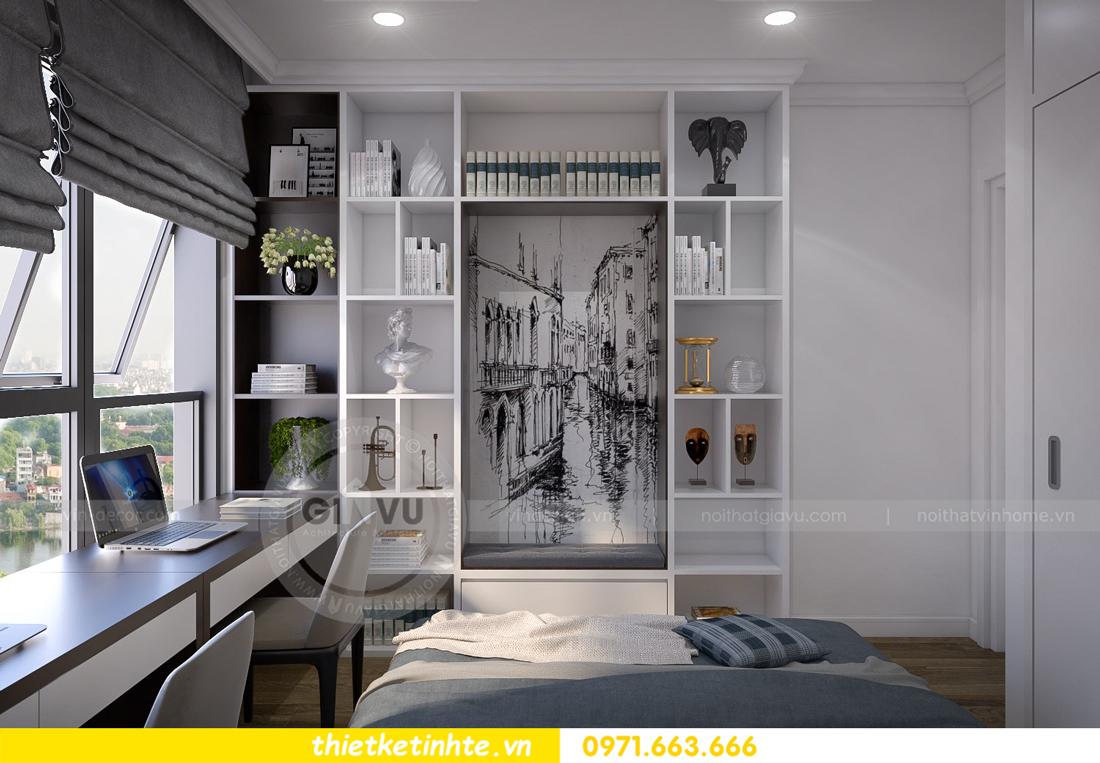 thiết kế nội thất chung cư Vinhomes Metropolis Liễu Giai 09