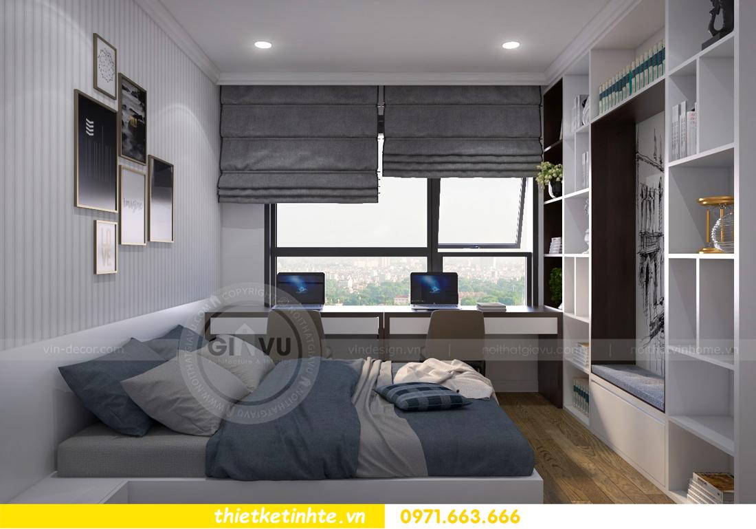 thiết kế nội thất chung cư Vinhomes Metropolis Liễu Giai 10