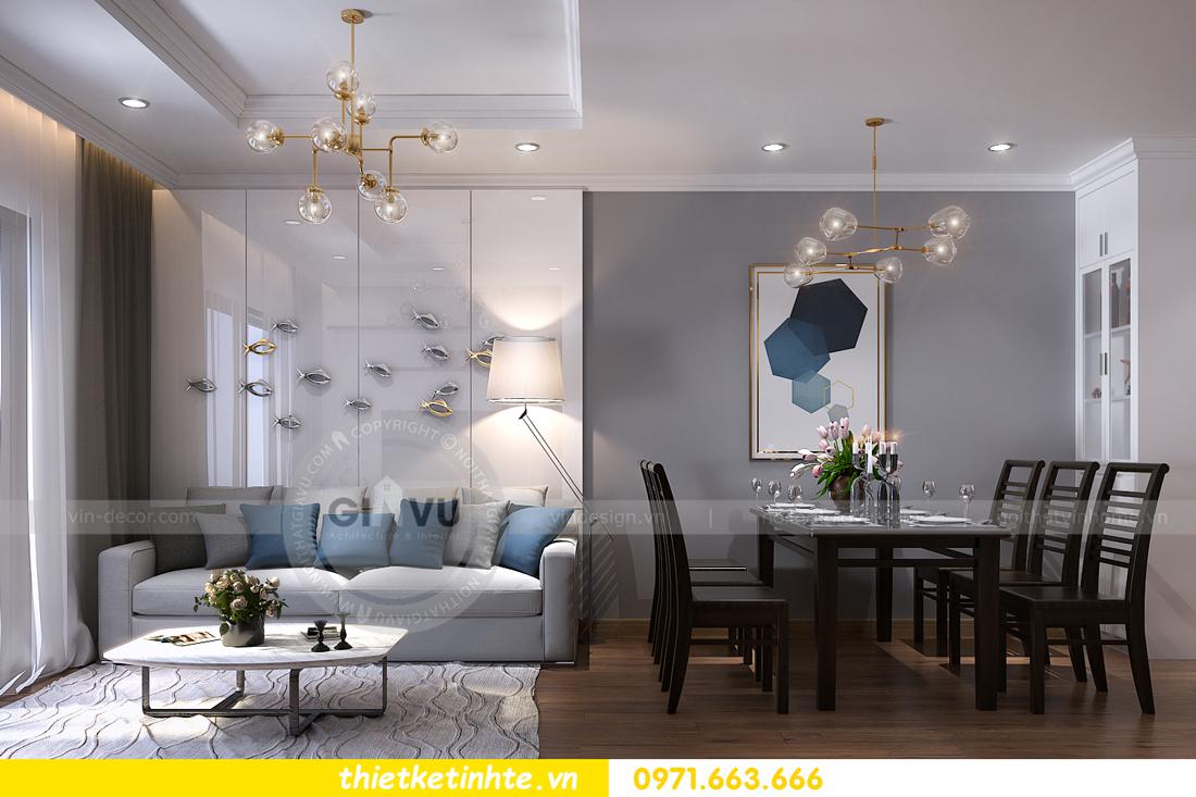 thiết kế nội thất chung cư Vinhomes Sky Lake Phạm Hùng 01
