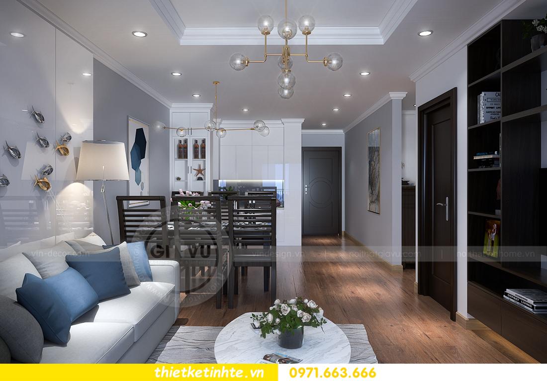 thiết kế nội thất chung cư Vinhomes Sky Lake Phạm Hùng 03