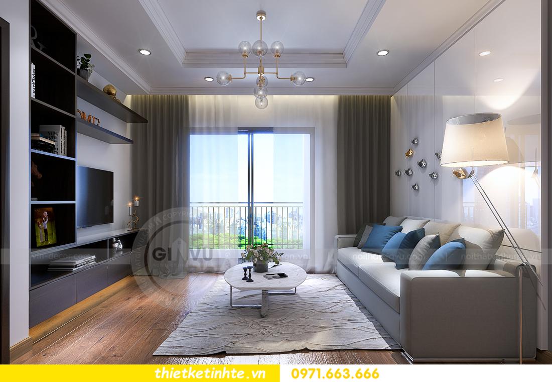 thiết kế nội thất chung cư Vinhomes Sky Lake Phạm Hùng 08
