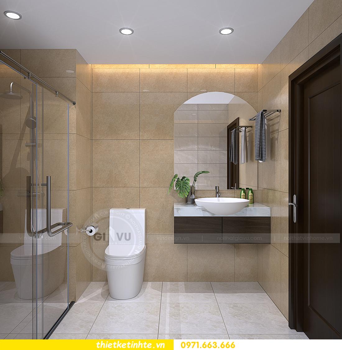 thiết kế nội thất chung cư Vinhomes Sky Lake Phạm Hùng 09