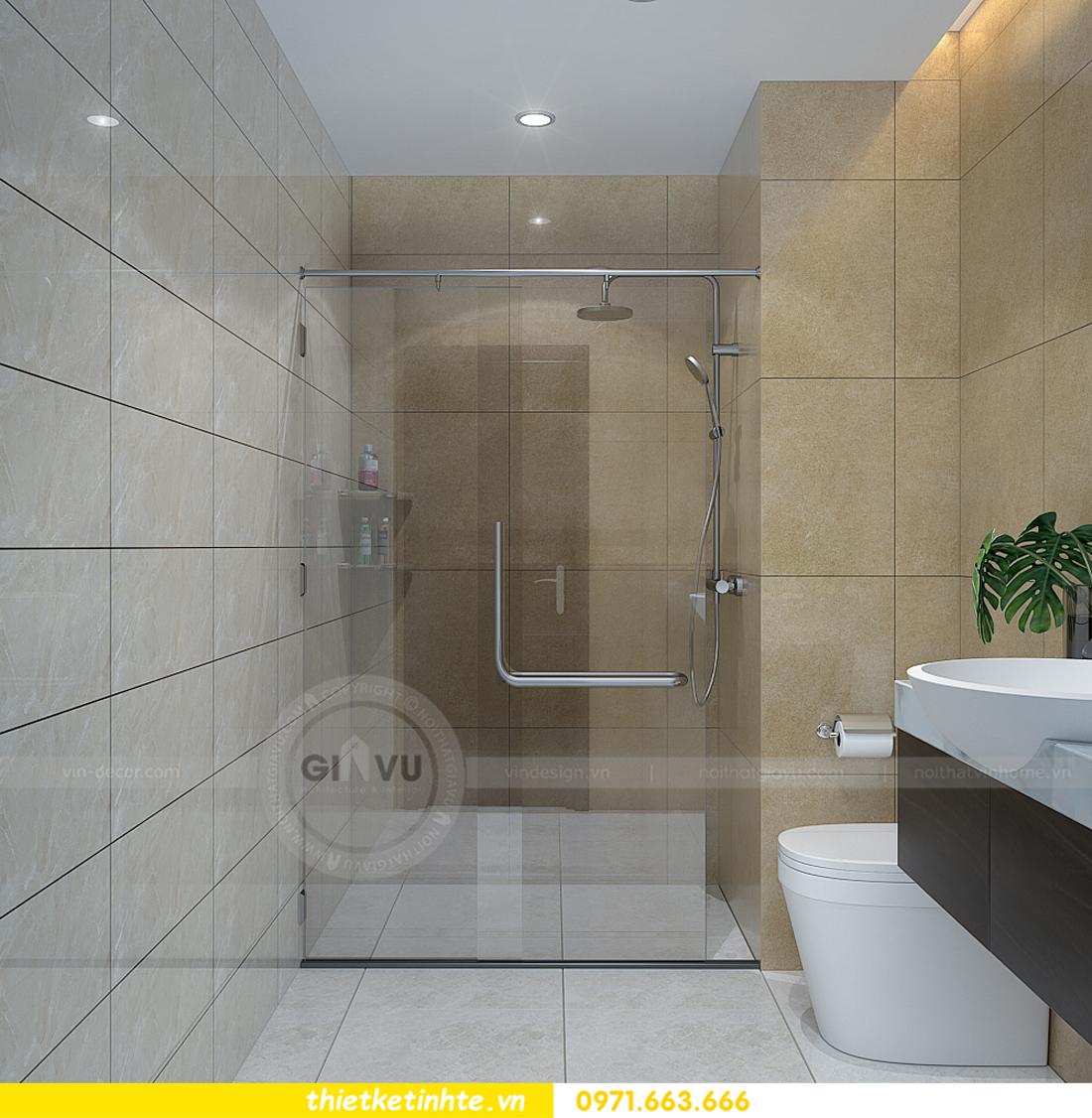 thiết kế nội thất chung cư Vinhomes Sky Lake Phạm Hùng 10