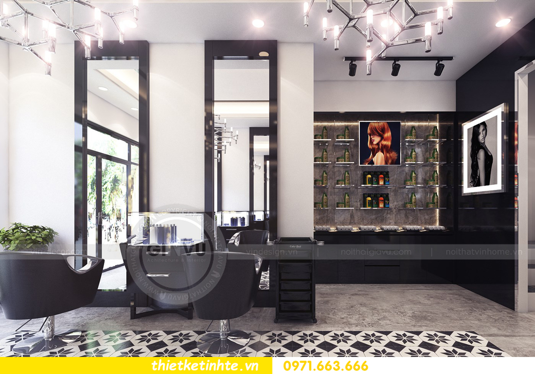 thiết kế nội thất Hair Salon ấn tượng ngay từ cái nhìn đầu tiên 03
