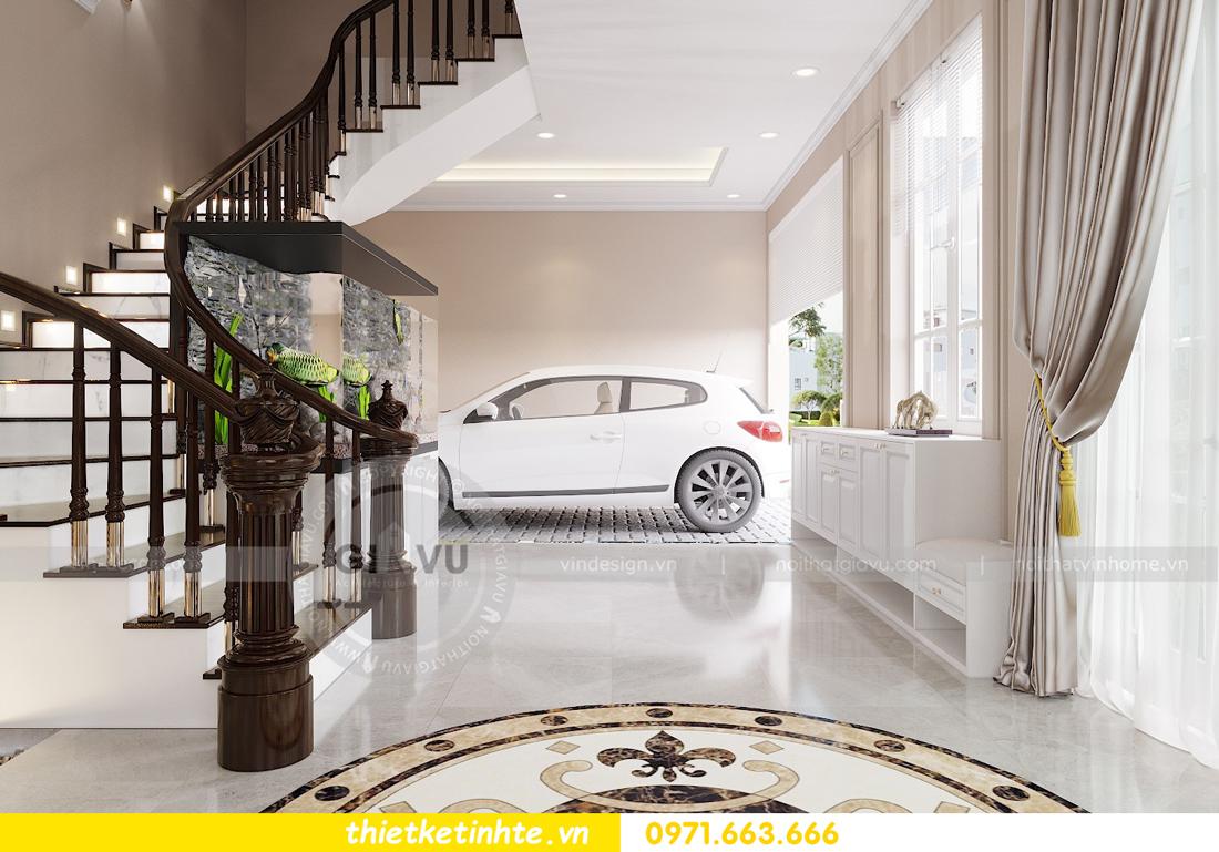 thiết kế nội thất nhà phố đẹp hiện đại nhà chị Thủy 02