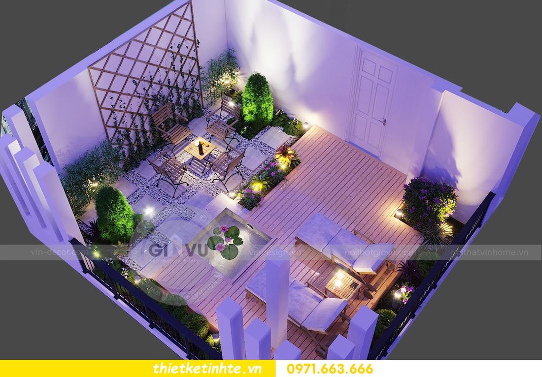 thiết kế nội thất nhà phố đẹp hiện đại nhà chị Thủy 21