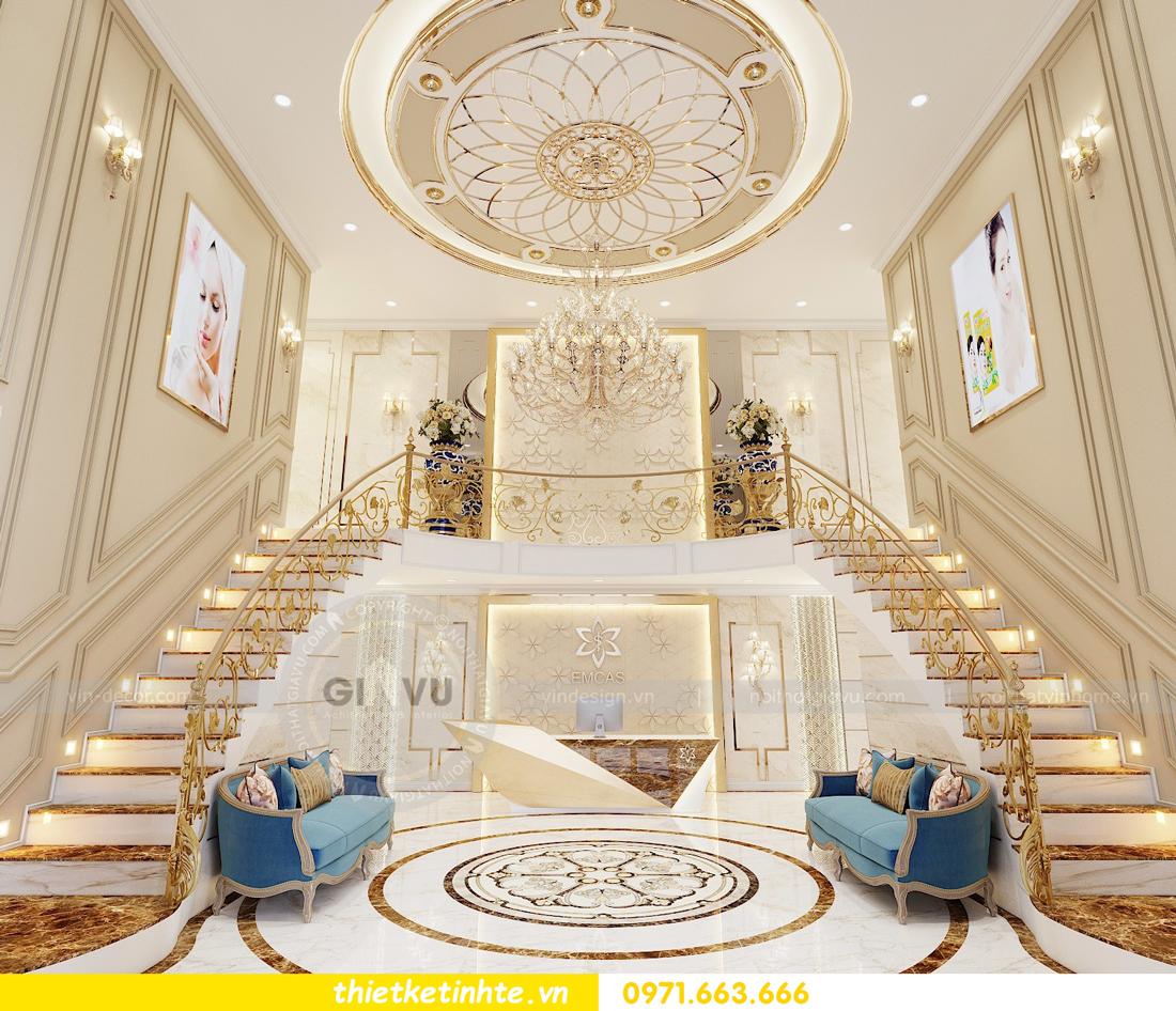 thiết kế nội thất Shophouse Times City theo phong cách hiện đại 01