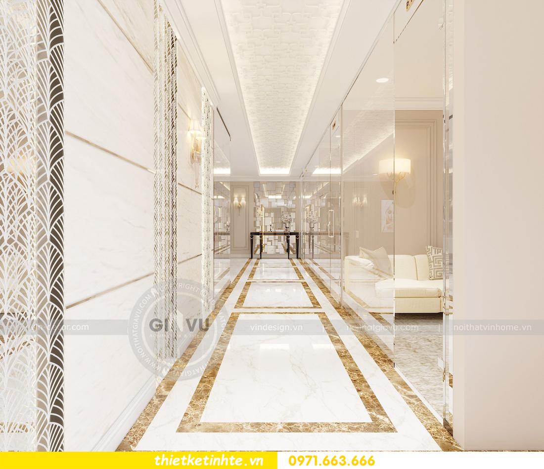 thiết kế nội thất Shophouse Times City theo phong cách hiện đại 06
