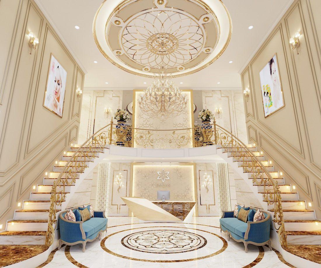 Thiết kế nội thất Shophouse Times City theo phong cách Luxury – Anh Khiêm