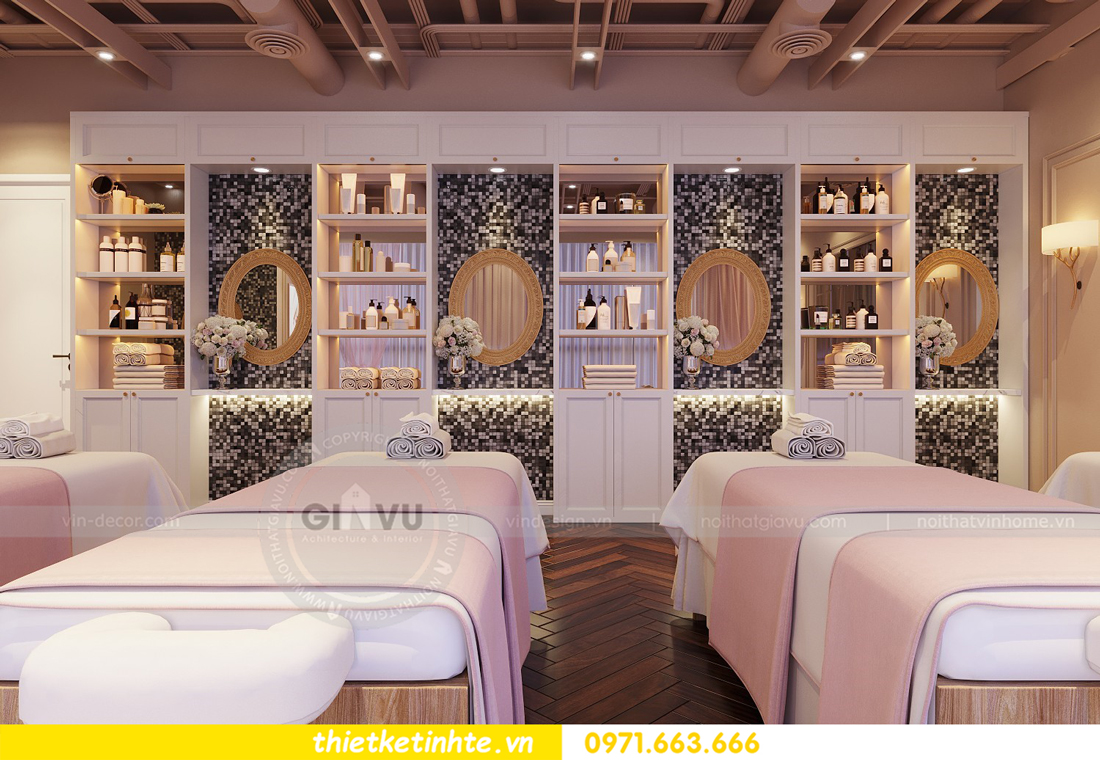 thiết kế nội thất Shophouse Times City theo phong cách hiện đại 15
