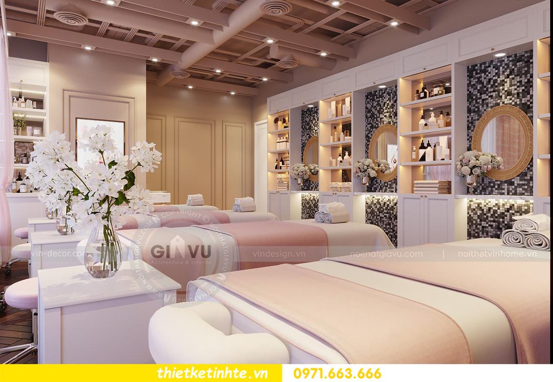 thiết kế nội thất Shophouse Times City theo phong cách hiện đại 17