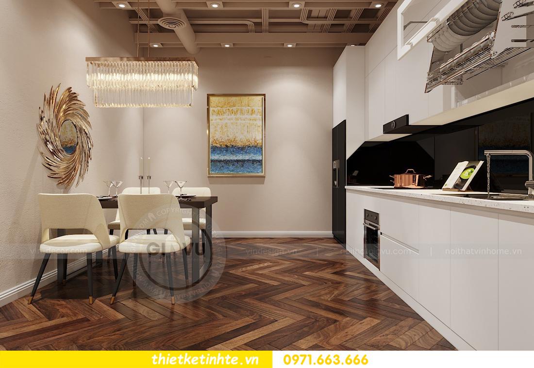 thiết kế nội thất Shophouse Times City theo phong cách hiện đại 20