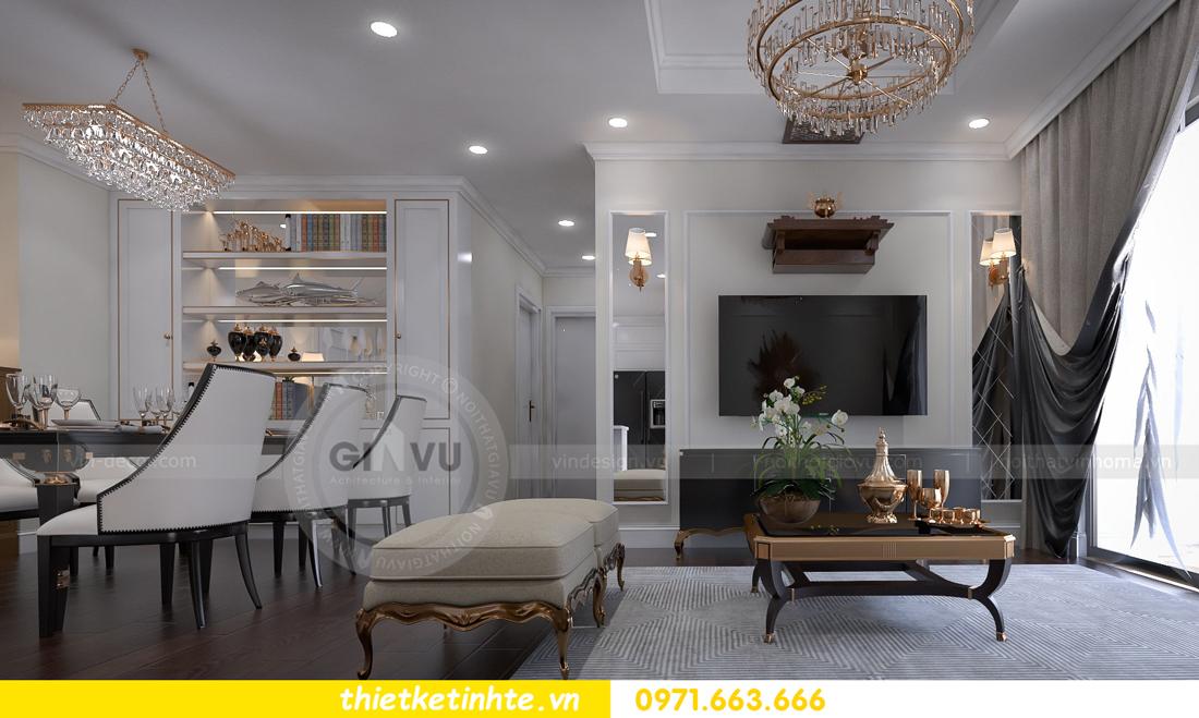 thiết kế thi công nội thất chung cư D Capitale đẹp tinh tế 01