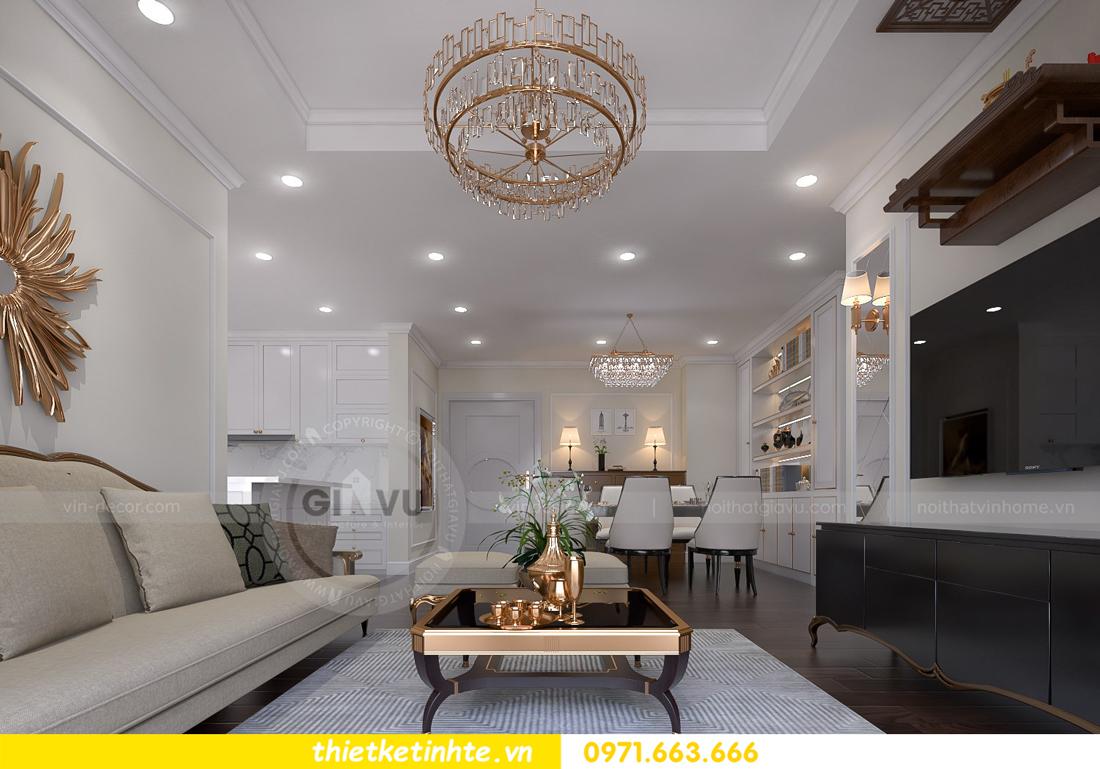 thiết kế thi công nội thất chung cư D Capitale đẹp tinh tế 02