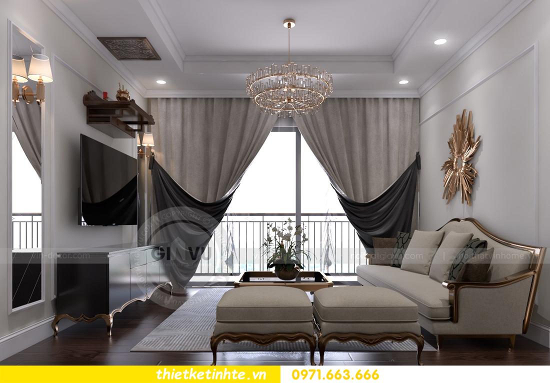 thiết kế thi công nội thất chung cư D Capitale đẹp tinh tế 03