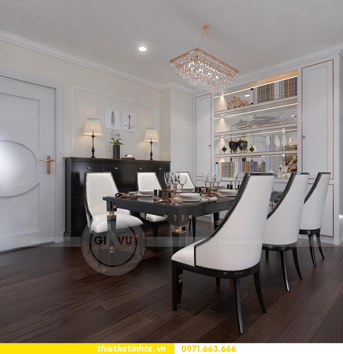 thiết kế thi công nội thất chung cư D Capitale đẹp tinh tế 04