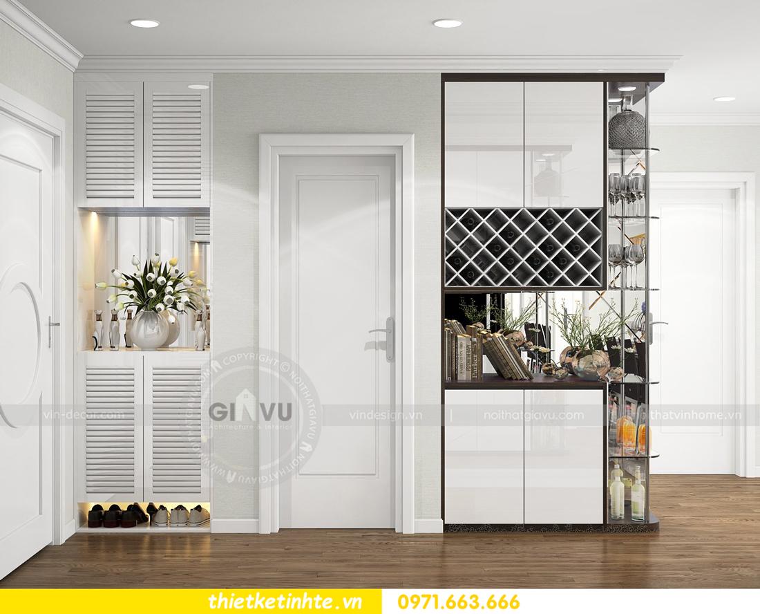 thiết kế nội thất căn hộ chung cư Park Hill 3 căn 09 01