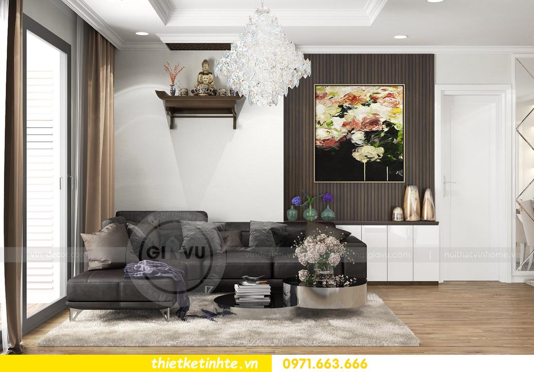 thiết kế nội thất căn hộ chung cư Park Hill 3 căn 09 03
