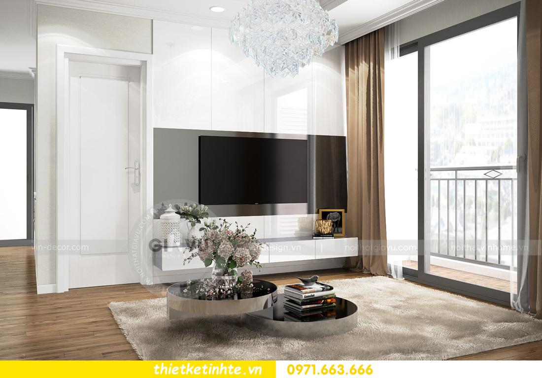 thiết kế nội thất căn hộ chung cư Park Hill 3 căn 09 04