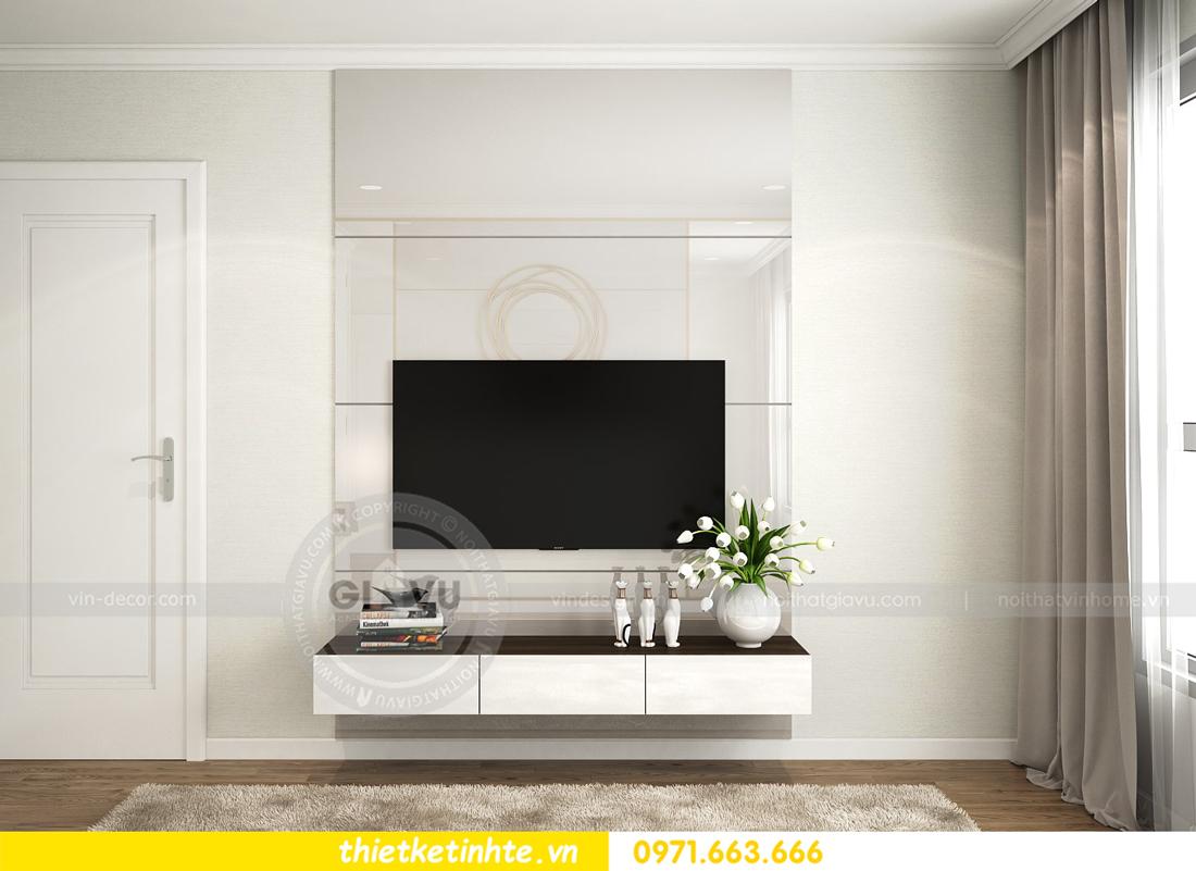 thiết kế nội thất căn hộ chung cư Park Hill 3 căn 09 08