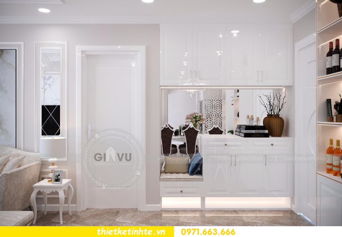 thiết kế nội thất chung cư D Capitale tòa C6 căn 01 thiết kế tinh tế 01