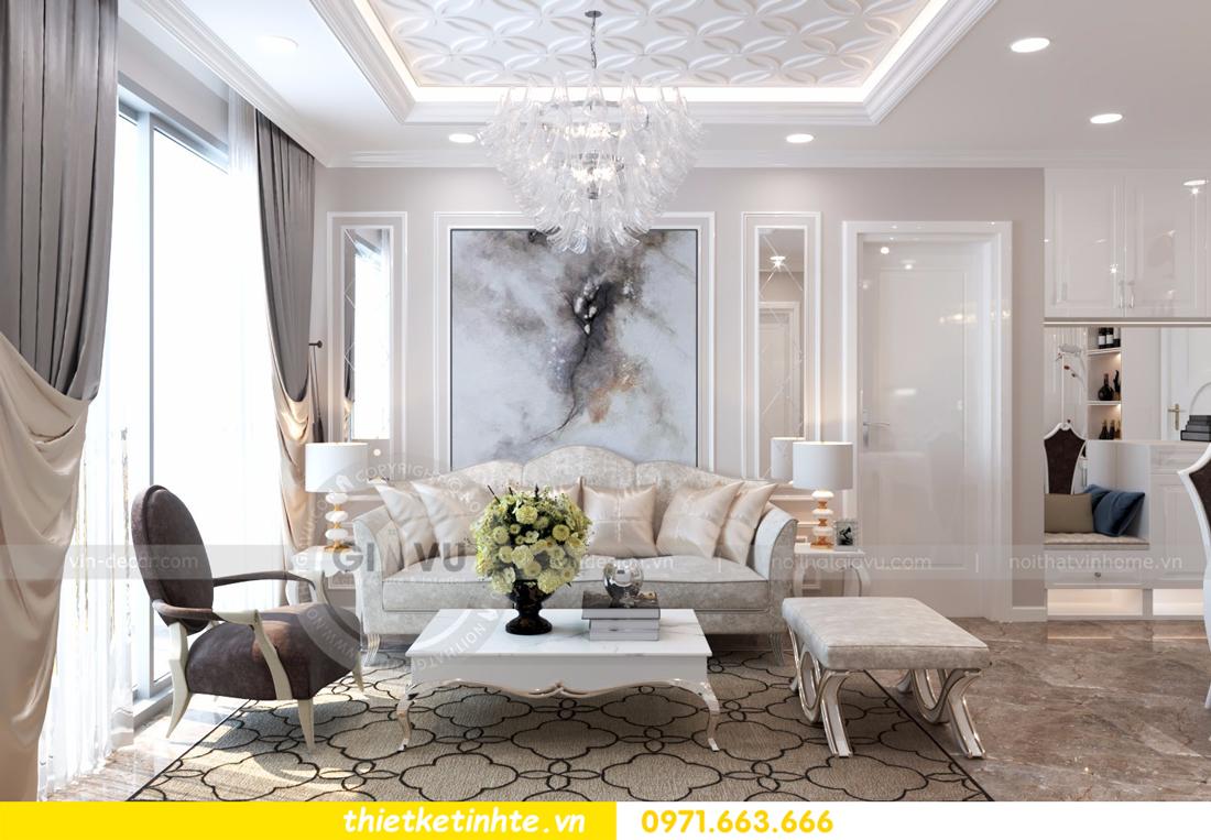 thiết kế nội thất chung cư D Capitale tòa C6 căn 01 thiết kế tinh tế 04
