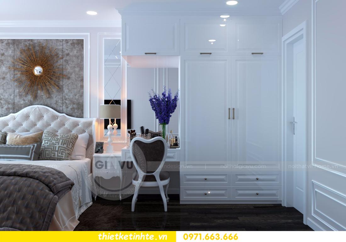 thiết kế nội thất chung cư D Capitale tòa C6 căn 01 thiết kế tinh tế 10