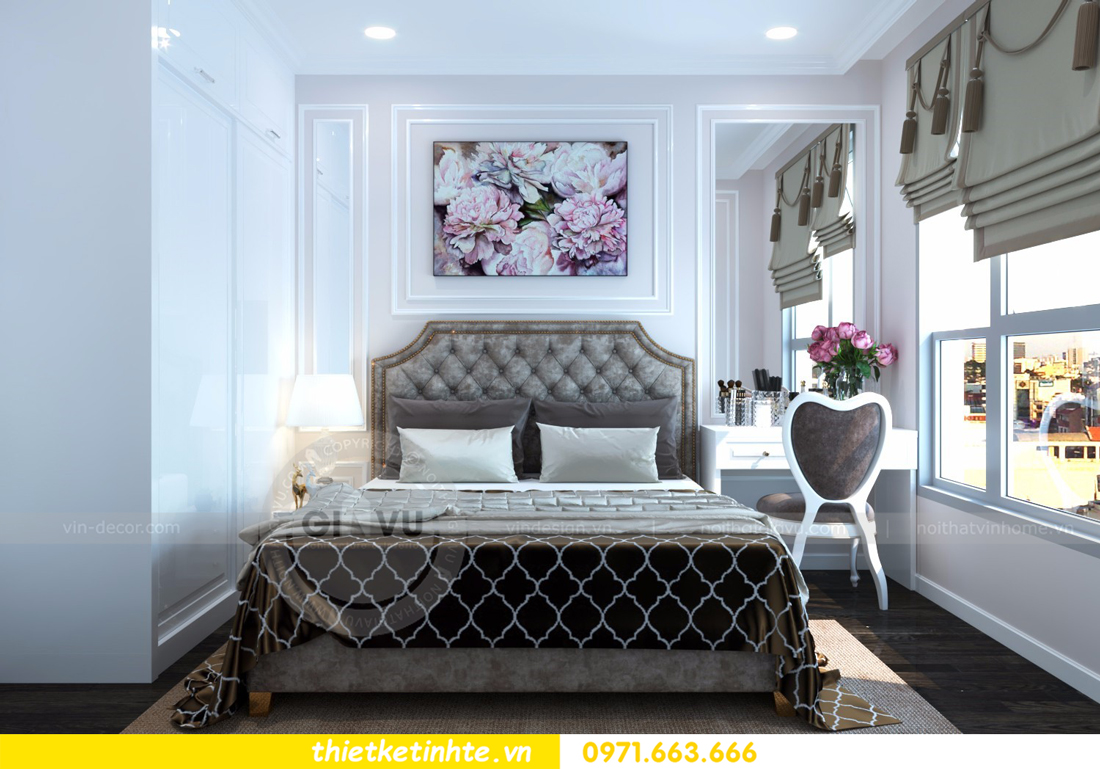thiết kế nội thất chung cư D Capitale tòa C6 căn 01 thiết kế tinh tế 13