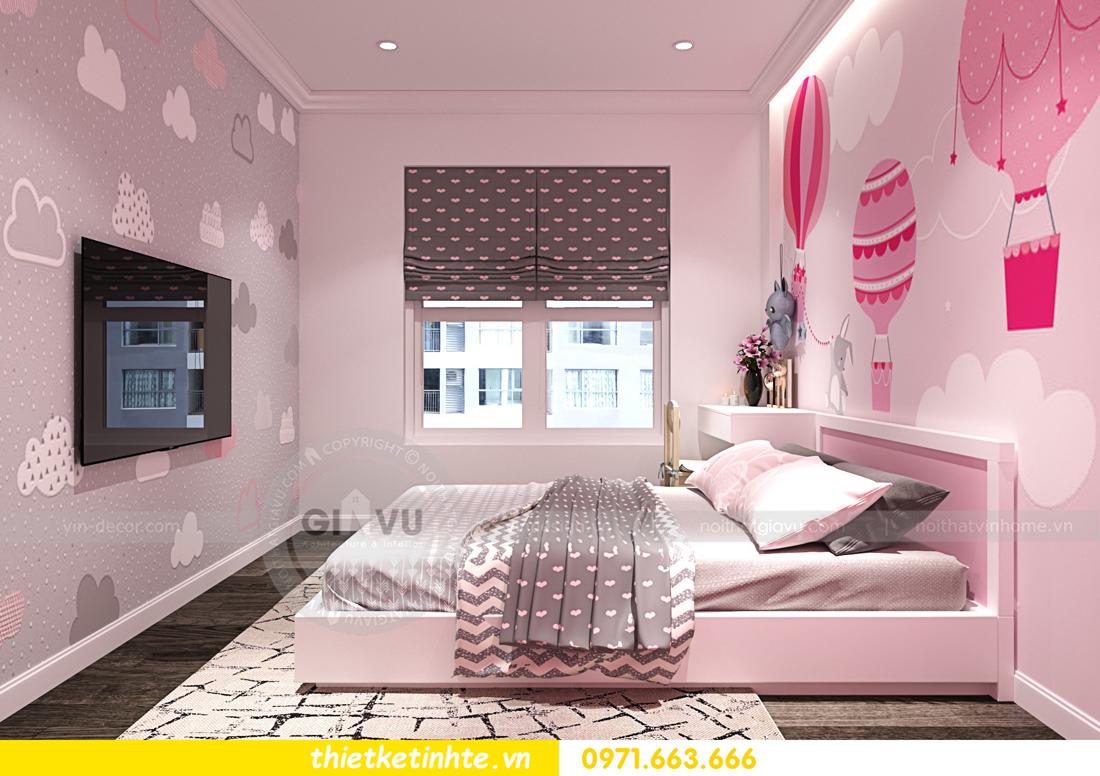 thiết kế nội thất chung cư Imperial Plaza 360 Giải Phóng IP1 CH 06 10