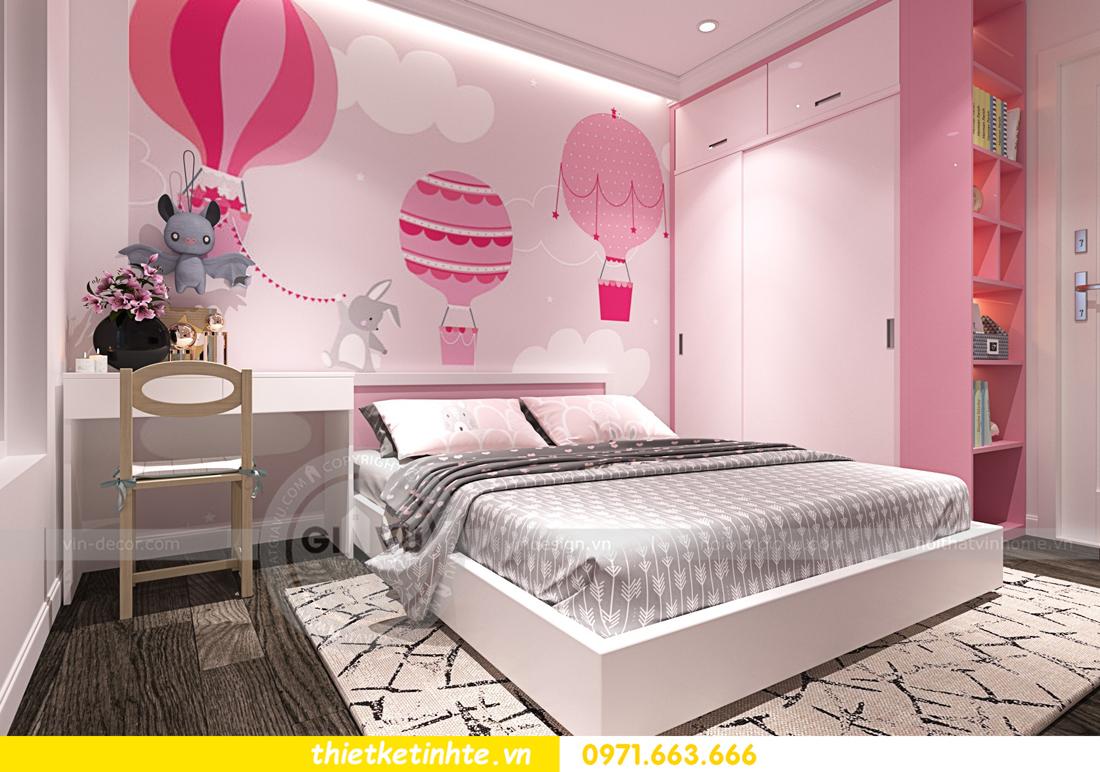 thiết kế nội thất chung cư Imperial Plaza 360 Giải Phóng IP1 CH 06 12