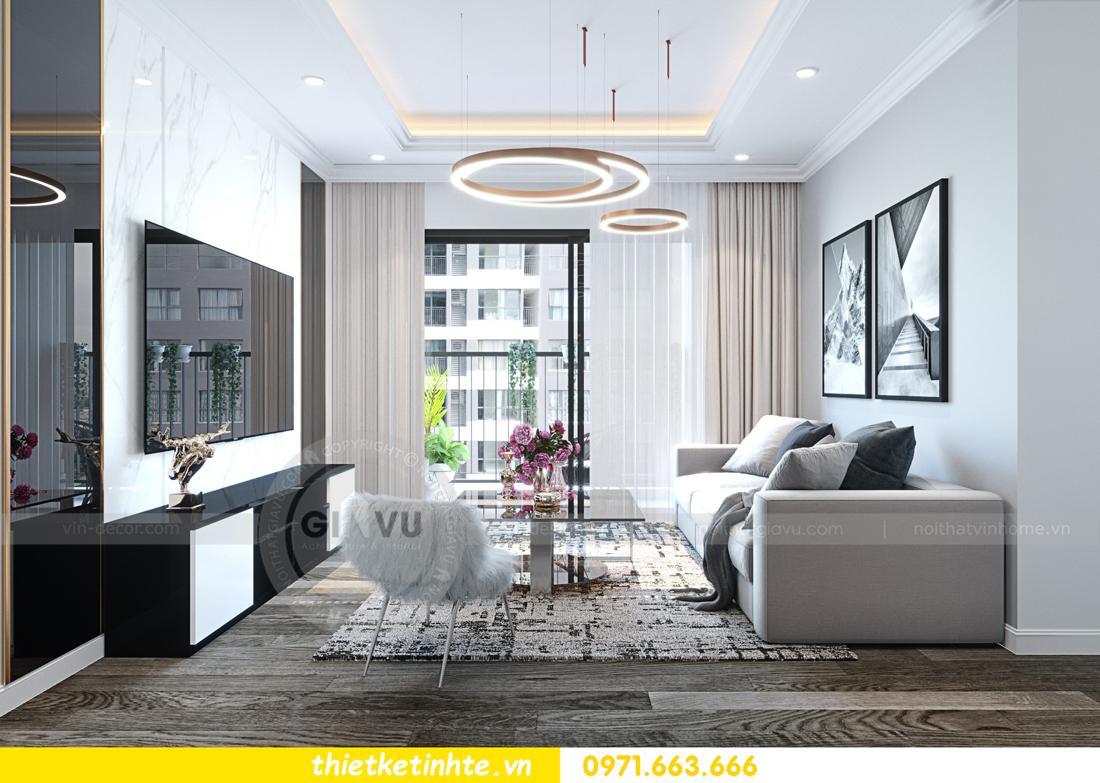 thiết kế nội thất chung cư Imperial Plaza 360 Giải Phóng IP1 CH 06 2