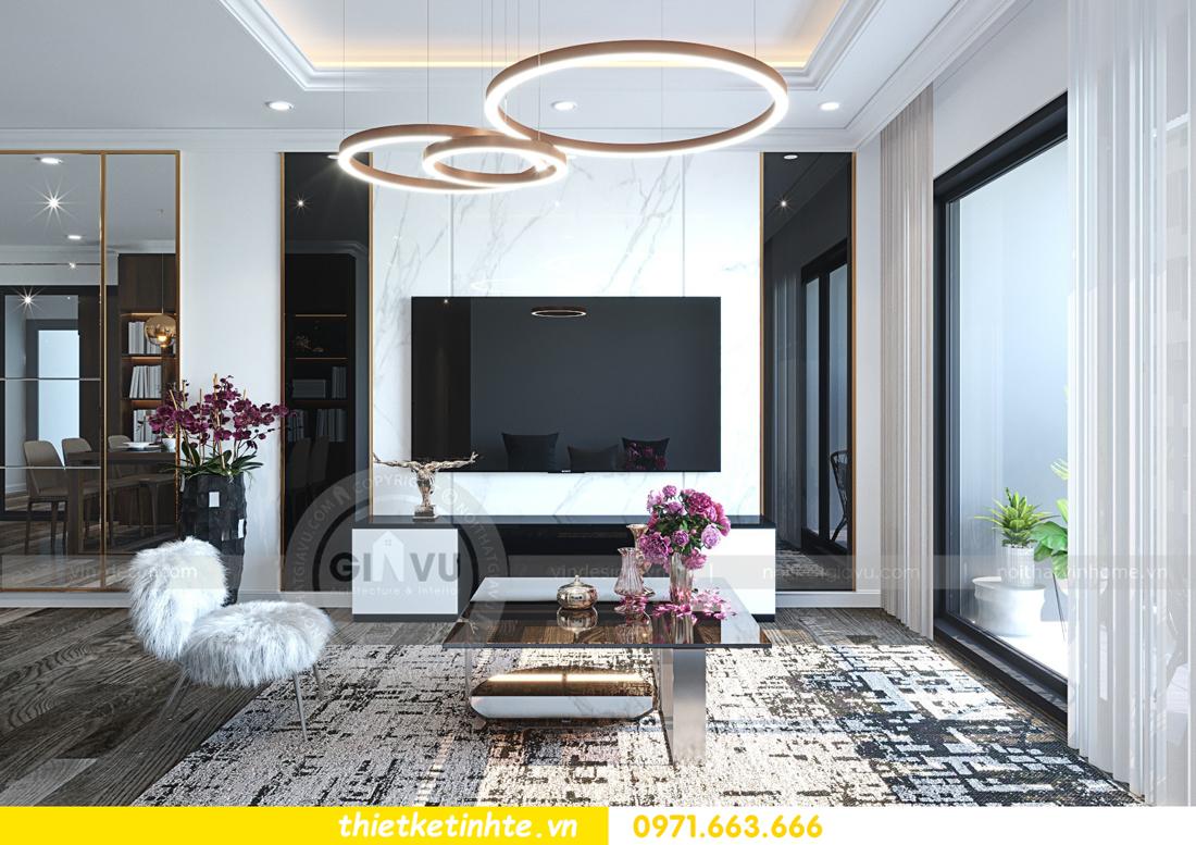 thiết kế nội thất chung cư Imperial Plaza 360 Giải Phóng IP1 CH 06 3