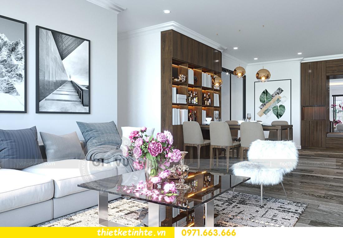 thiết kế nội thất chung cư Imperial Plaza 360 Giải Phóng IP1 CH 06 4