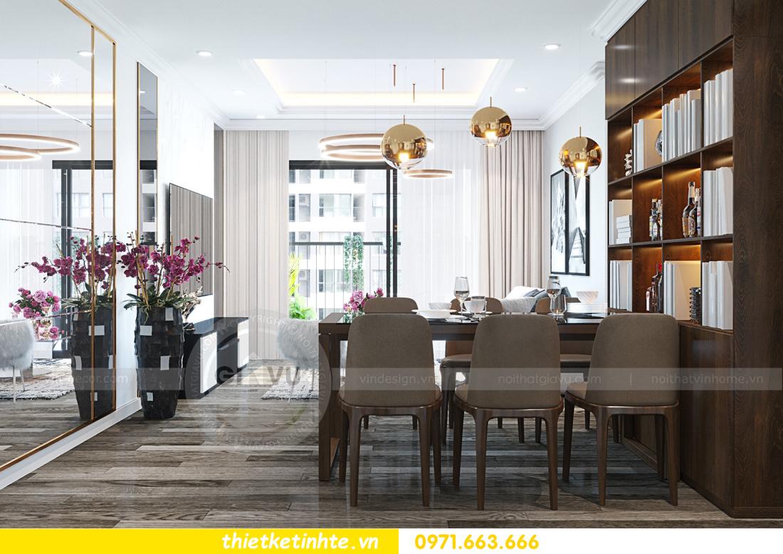 thiết kế nội thất chung cư Imperial Plaza 360 Giải Phóng IP1 CH 06 5