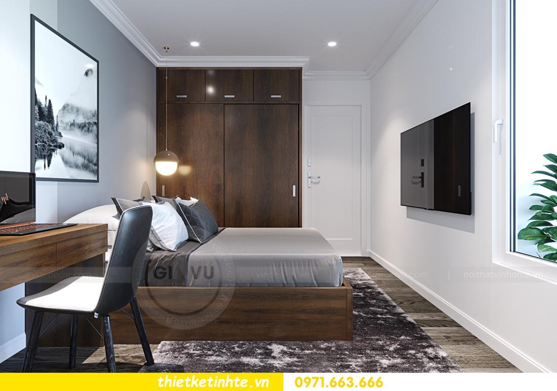 thiết kế nội thất chung cư Imperial Plaza 360 Giải Phóng IP1 CH 06 9