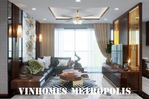 Thiết Kế Nội Thất Chung Cư Metropolis Căn 01 Tòa M1 001