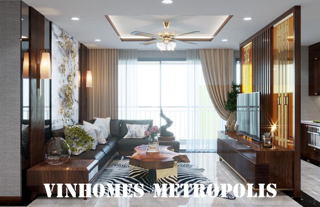 Thiết Kế Nội Thất Chung Cư Metropolis Căn 01 Tòa M1 Nhà Chị Hương