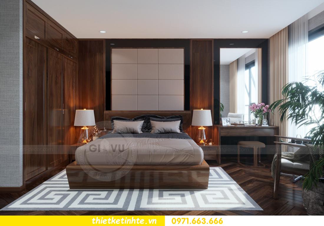 thiết kế nội thất chung cư Metropolis căn 01 tòa M1 08