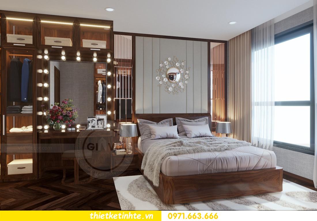 thiết kế nội thất chung cư Metropolis căn 01 tòa M1 10