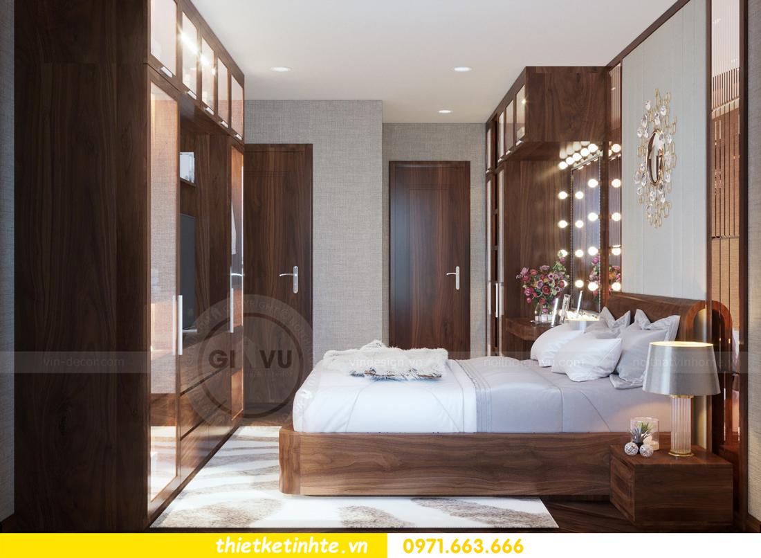thiết kế nội thất chung cư Metropolis căn 01 tòa M1 11