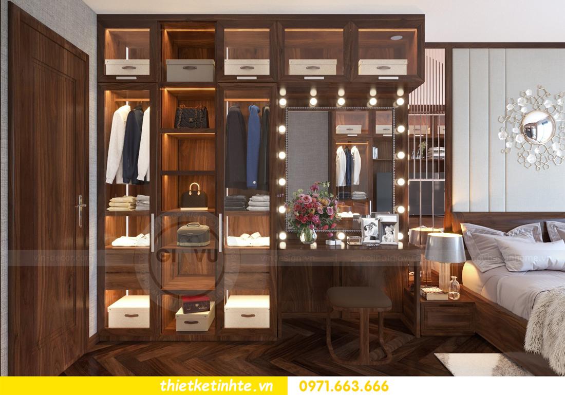 thiết kế nội thất chung cư Metropolis căn 01 tòa M1 12