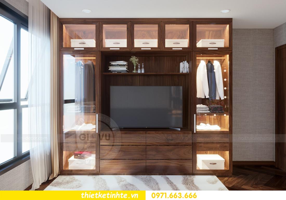 thiết kế nội thất chung cư Metropolis căn 01 tòa M1 13
