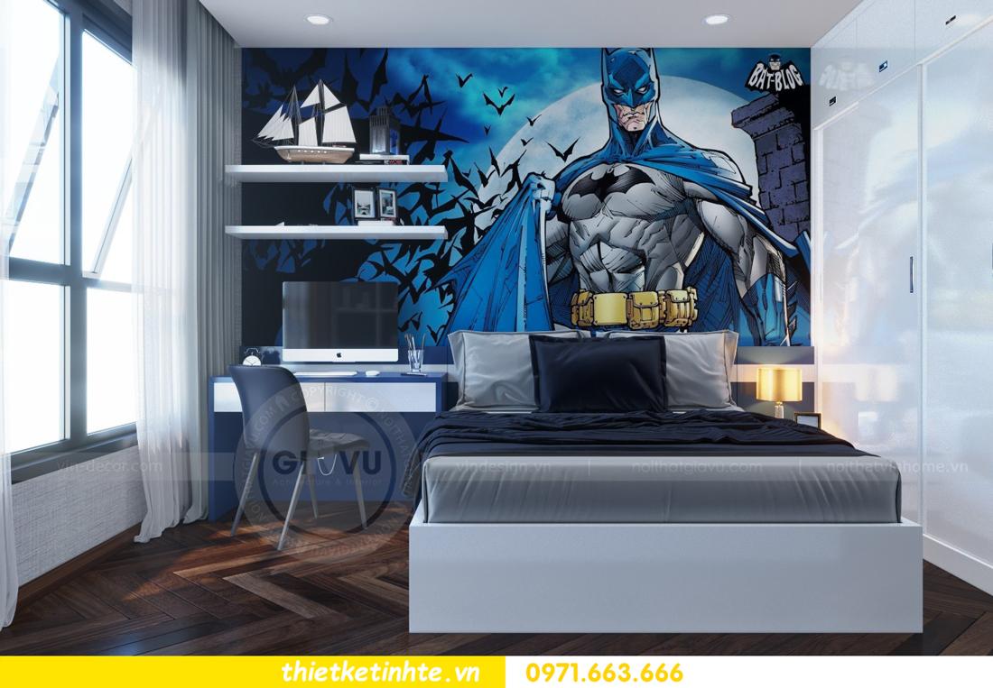 thiết kế nội thất chung cư Metropolis căn 01 tòa M1 15